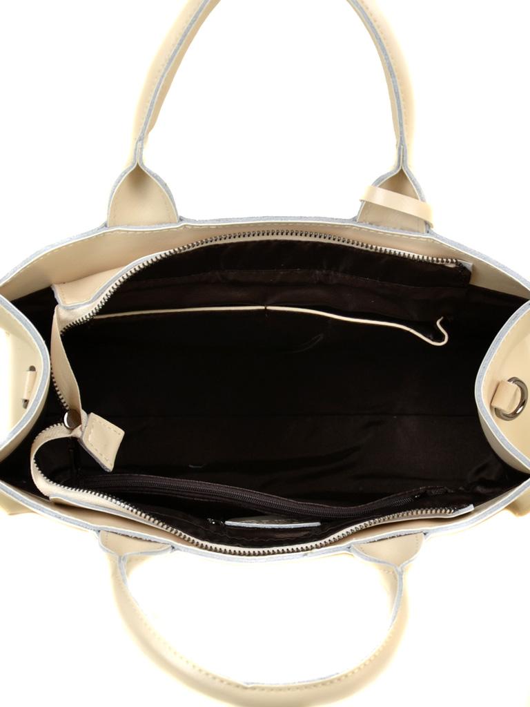 Сумка Женская Классическая кожа ALEX RAI 03-1 8633 beige