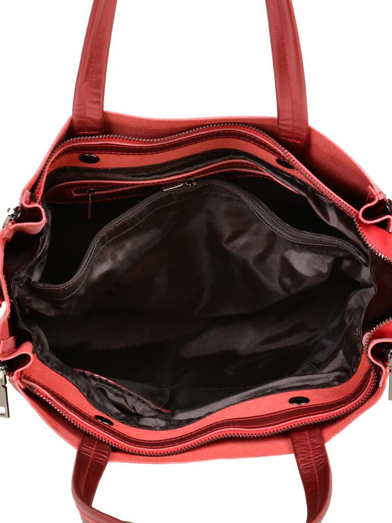 Сумка Женская Классическая кожа ALEX RAI 03-1 8650 red