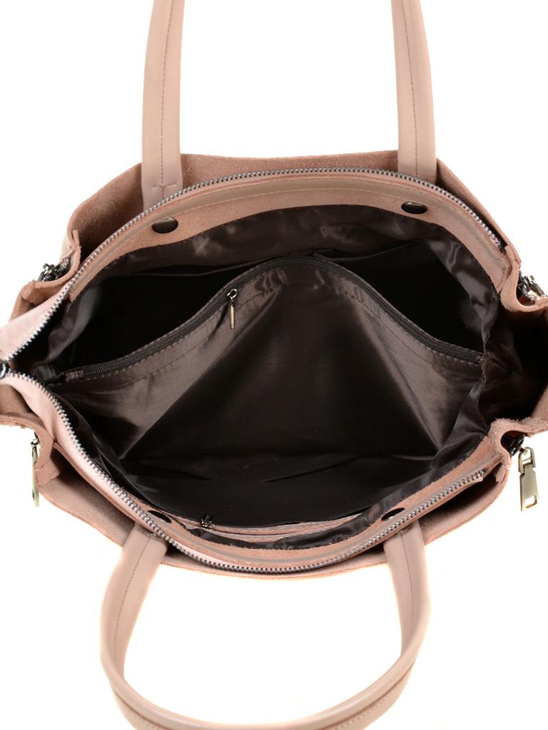 Сумка Женская Классическая кожа ALEX RAI 03-1 8650 light-pink - фото 5