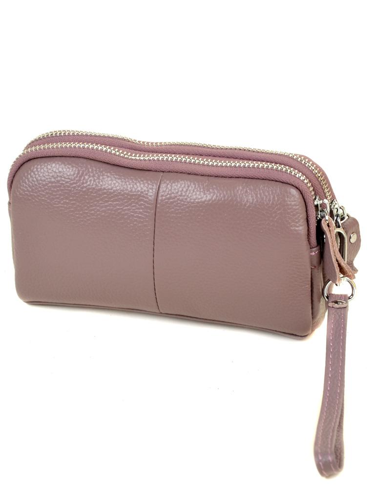Кошелек кожаный 6002-A pink