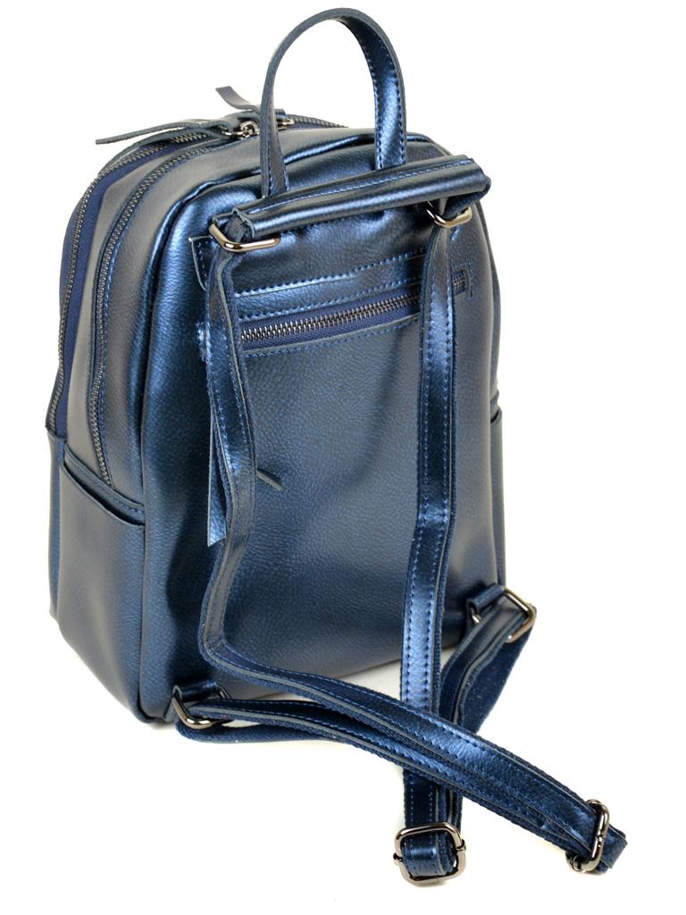 Сумка Женская Рюкзак кожа ALEX RAI 03-2 337 chromatic-blue - фото 4