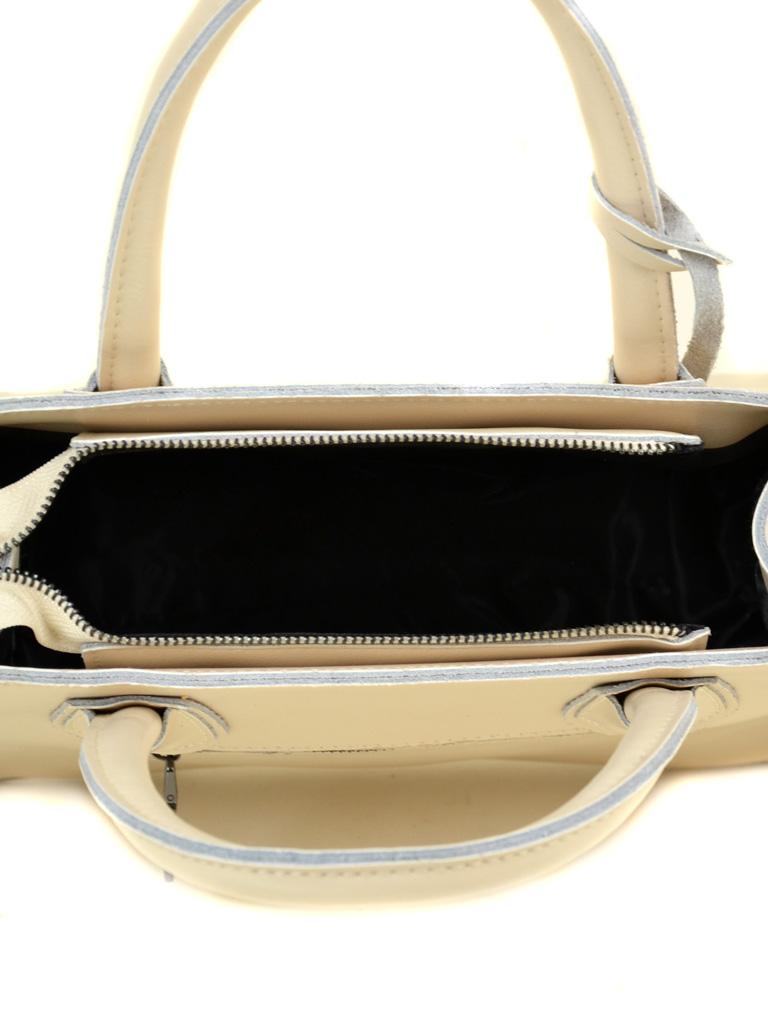 Сумка Женская Классическая кожа ALEX RAI 03-1 1527 beige - фото 5