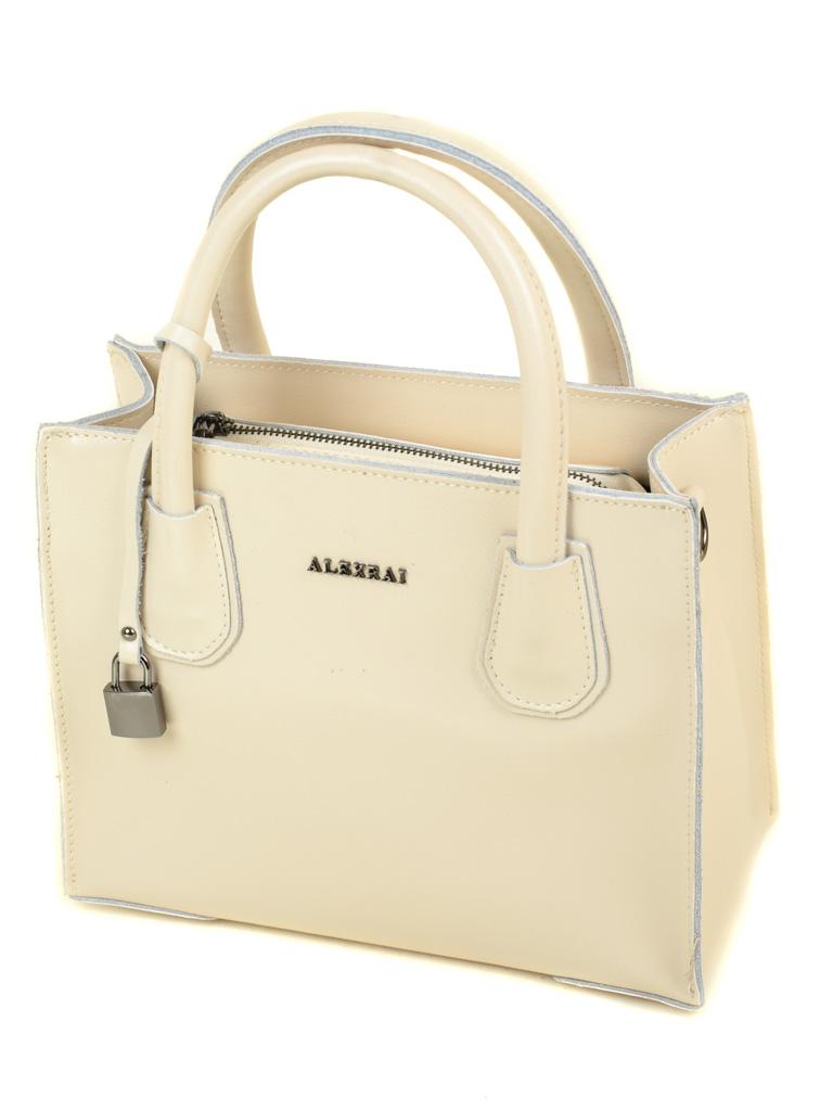 Сумка Женская Классическая кожа ALEX RAI 03-1 1527 beige