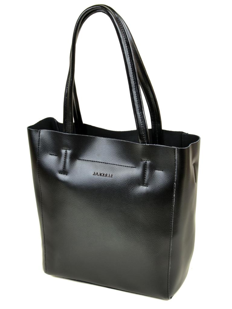 Сумка Женская Классическая кожа ALEX RAI 03-1 J003 black