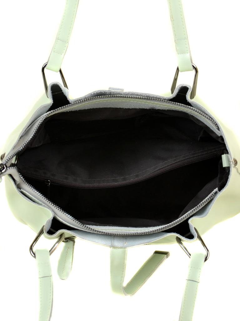 Сумка Женская Классическая кожа ALEX RAI 03-1 317 light-green - фото 5