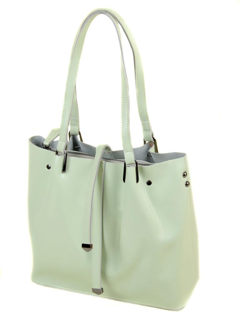 Сумка Женская Классическая кожа ALEX RAI 03-1 317 light-green