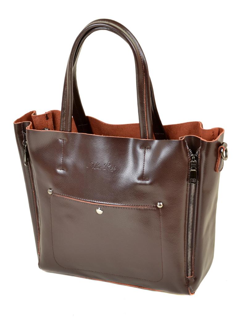 Сумка Женская Классическая кожа ALEX RAI 03-1 8650 brown