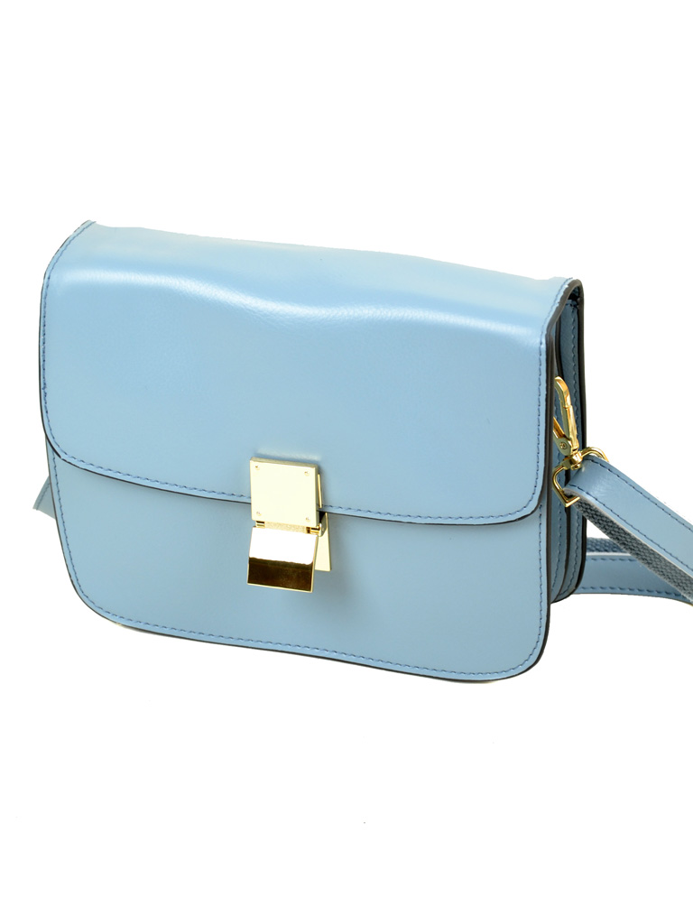 Сумка Женская Классическая кожа ALEX RAI 03-1 3345 light-blue