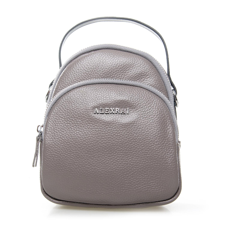 Сумка Женская Клатч кожа ALEX RAI 03-1 3905-7 grey