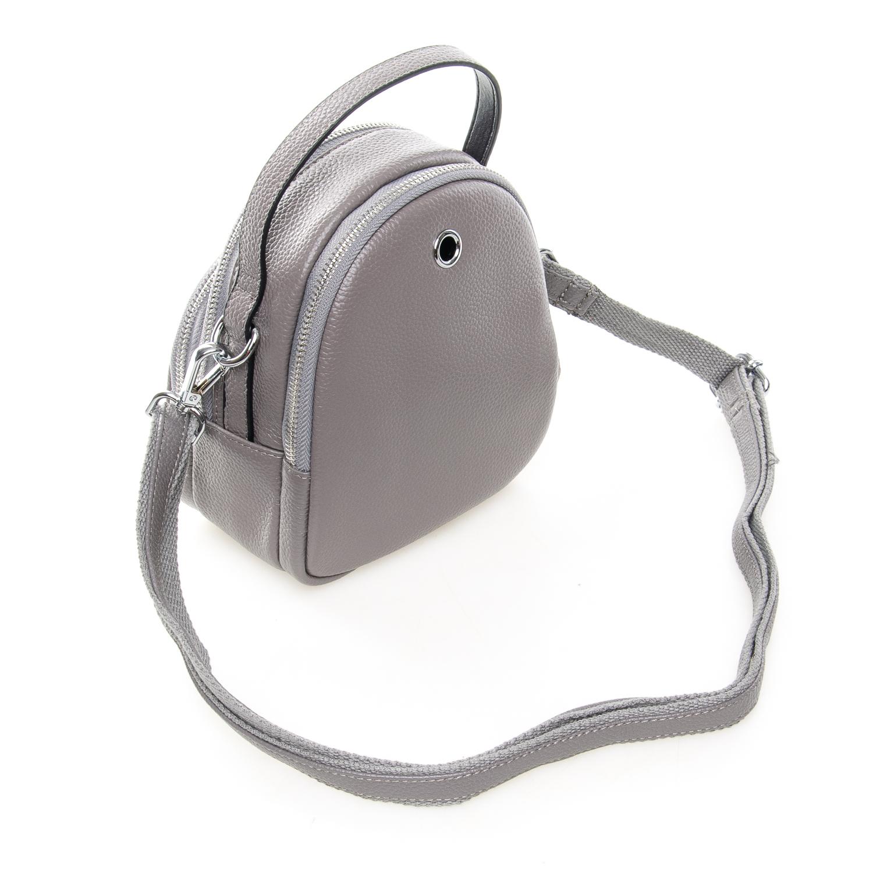 Сумка Женская Клатч кожа ALEX RAI 03-1 3905-7 grey - фото 4