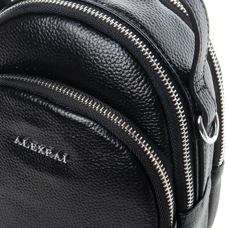 Сумка Женская Клатч кожа ALEX RAI 03-1 3905-1 black - фото 3