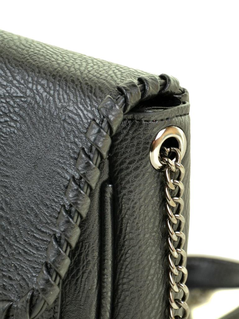 Сумка Женская Клатч иск-кожа ALEX RAI 03-5 2231 black - фото 3
