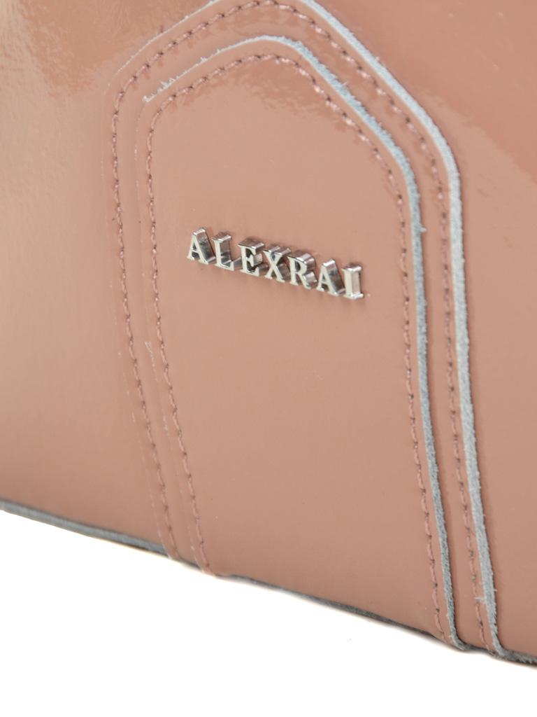 Сумка Женская Классическая кожа-лак 03-3 L8641 pink - фото 3