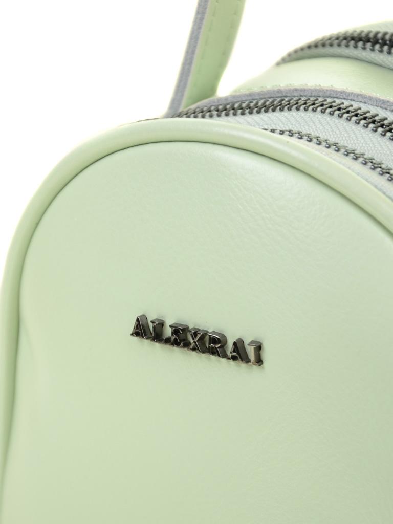 Сумка Женская Рюкзак кожа ALEX RAI 03-4 1189 l-green