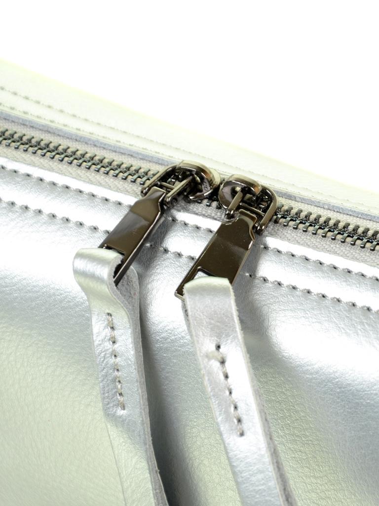 Сумка Женская Клатч кожа ALEX RAI 03-4 2227 silver-white - фото 3