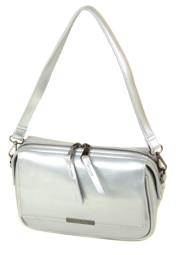 Сумка Женская Клатч кожа ALEX RAI 03-4 2227 silver-white