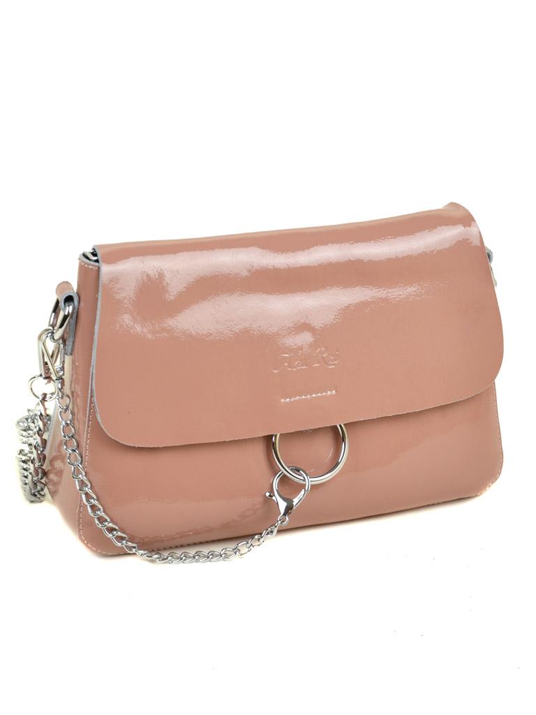 Сумка Женская Классическая кожа-лак 03-3 8723-3 pink