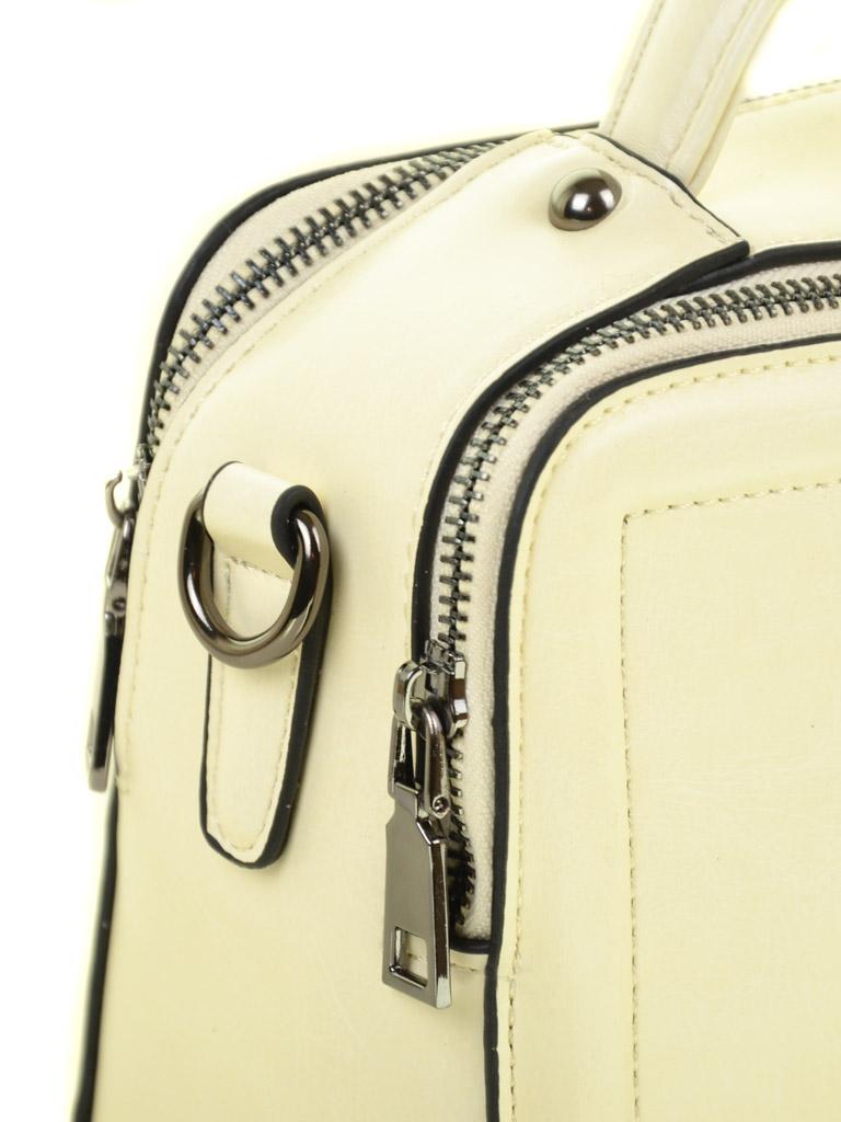 Сумка Женская Классическая иск-кожа ALEX RAI 03-5 9119 beige - фото 3