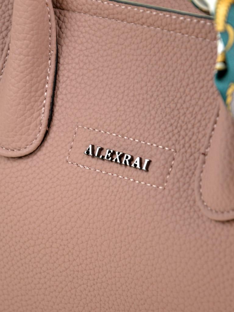 Сумка Женская Классическая иск-кожа ALEX RAI 03-5 9096 pink - фото 3