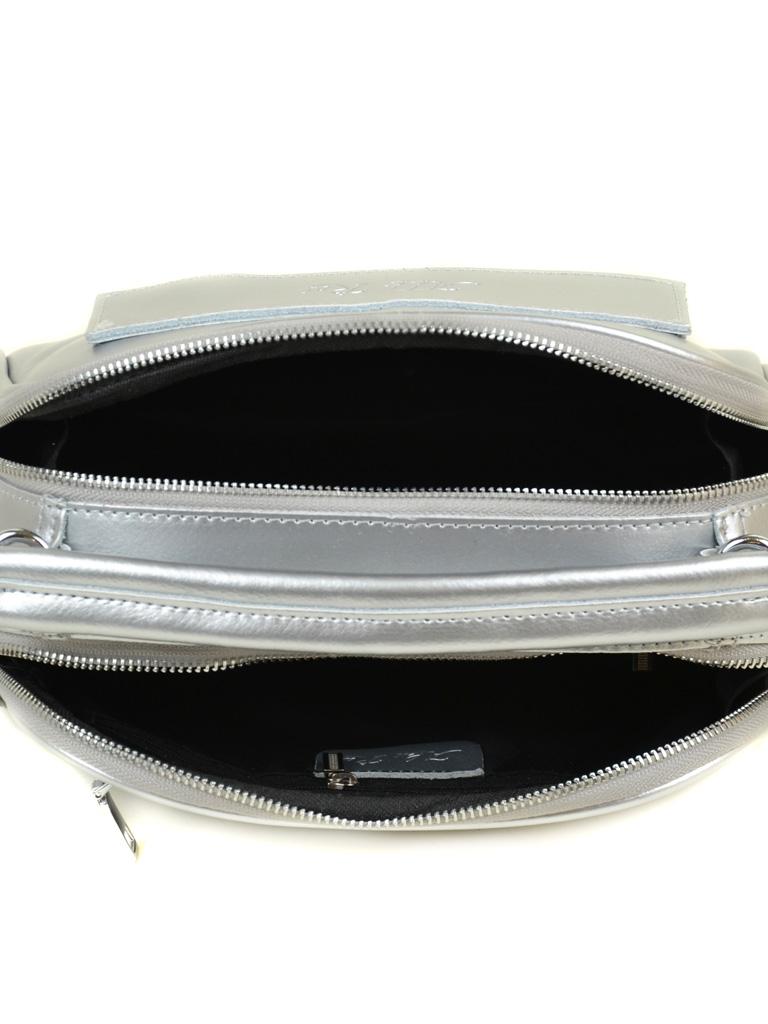 Сумка Женская Классическая кожа ALEX RAI 03-4 8539 silver-white