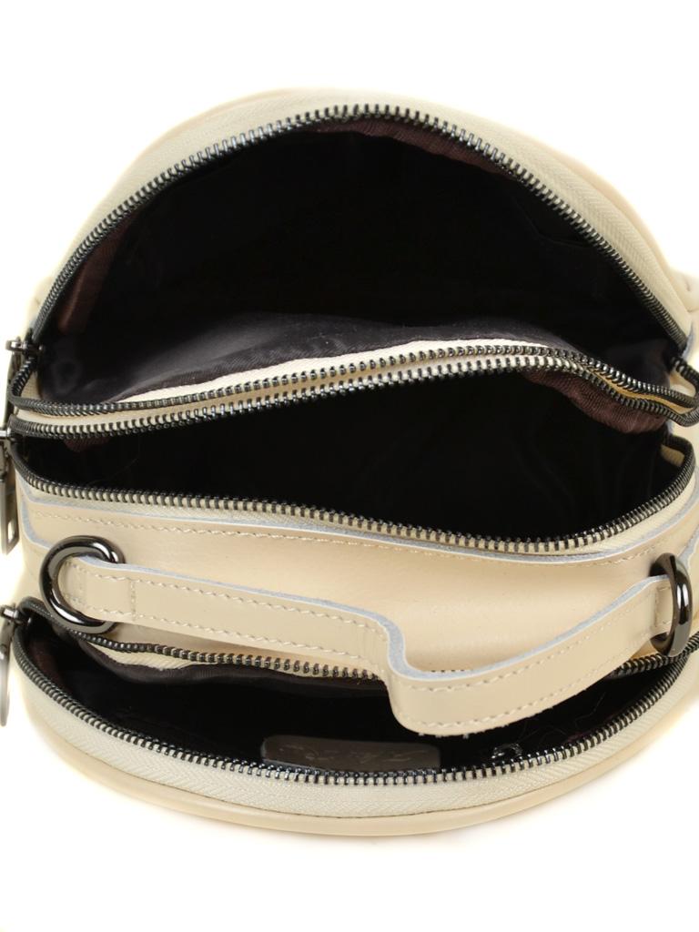 Сумка Женская Рюкзак кожа ALEX RAI 03-4 1189 beige - фото 5
