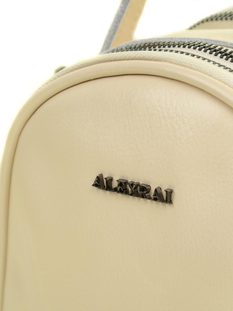 Сумка Женская Рюкзак кожа ALEX RAI 03-4 1189 beige - фото 3