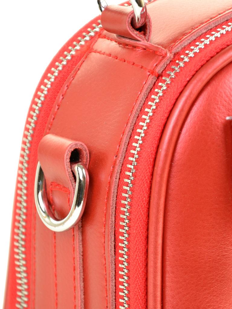 Сумка Женская Классическая кожа ALEX RAI 03-4 8539 bright-red