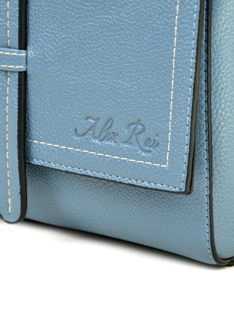 Сумка Женская Клатч иск-кожа ALEX RAI 03-5 2065 blue - фото 3