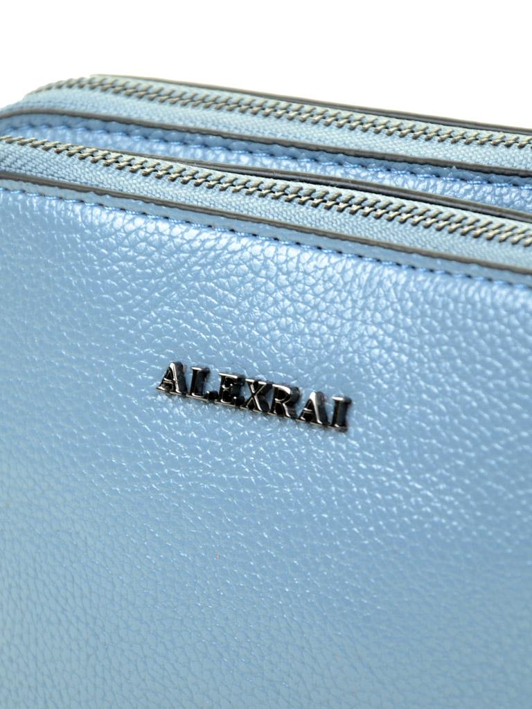 Сумка Женская Клатч иск-кожа ALEX RAI 03-5 767 blue - фото 3
