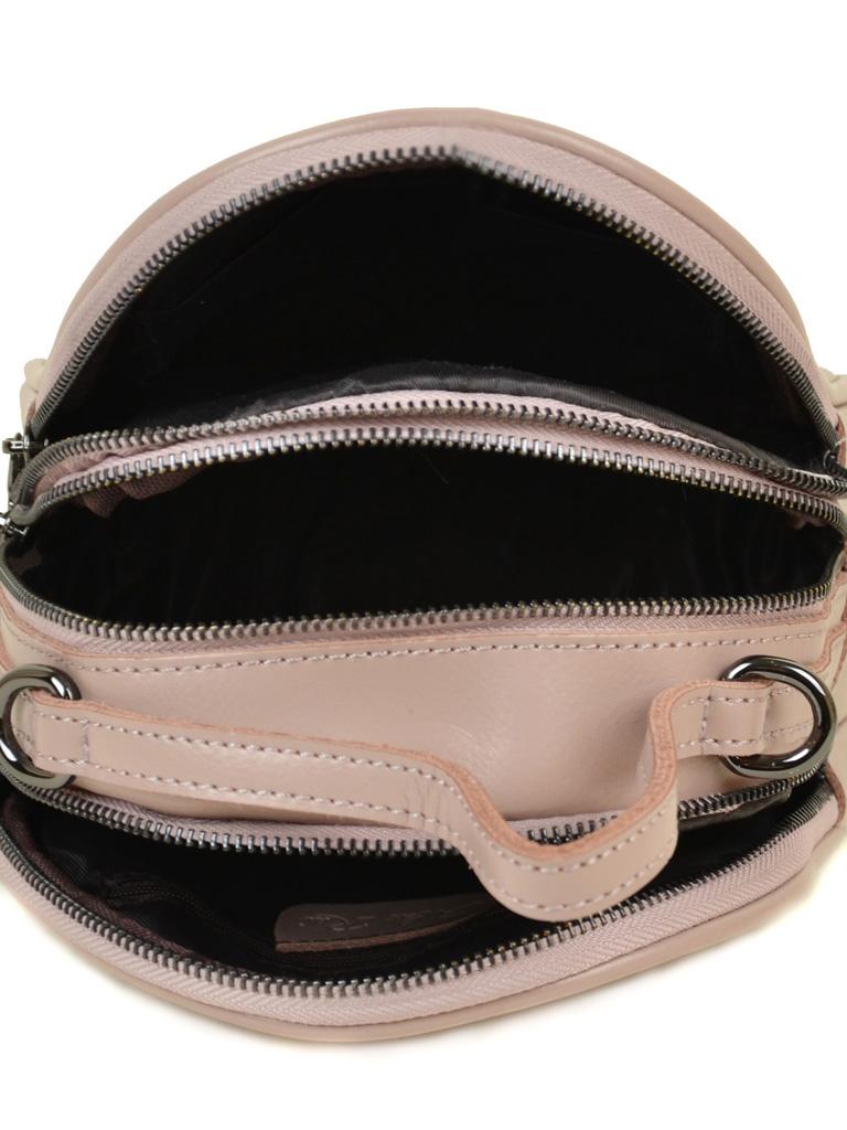 Сумка Женская Рюкзак кожа ALEX RAI 03-4 1189 light-pink - фото 5