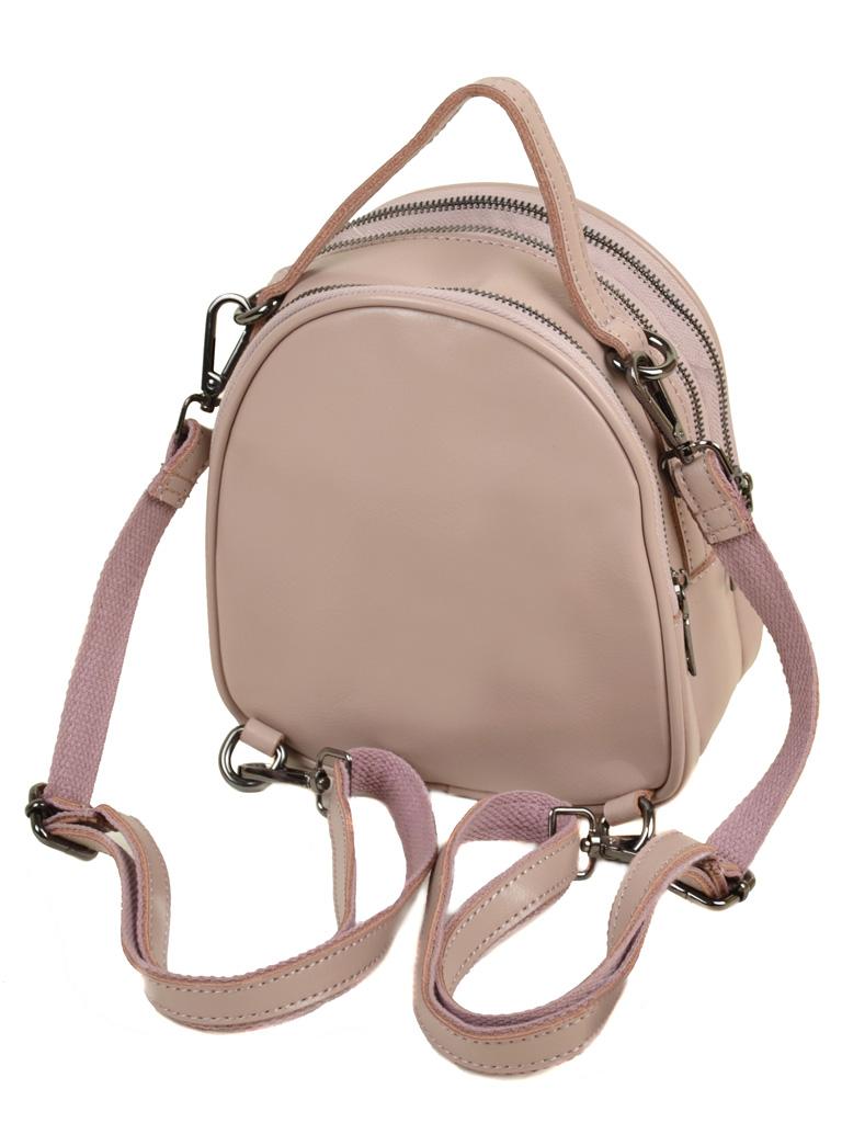 Сумка Женская Рюкзак кожа ALEX RAI 03-4 1189 light-pink - фото 4