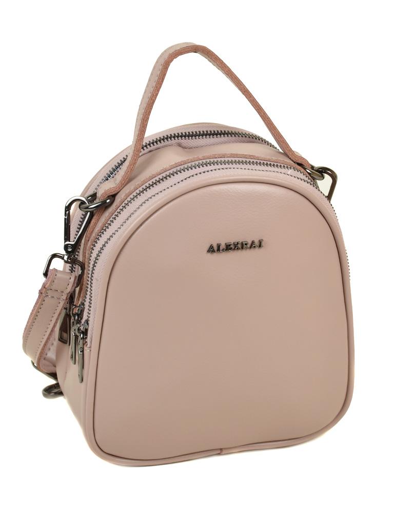 Сумка Женская Рюкзак кожа ALEX RAI 03-4 1189 light-pink