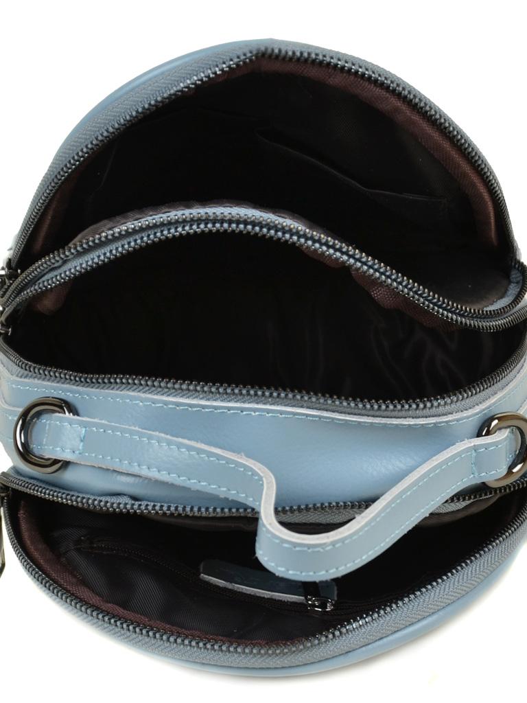 Сумка Женская Рюкзак кожа ALEX RAI 03-4 1189 l-blue - фото 5