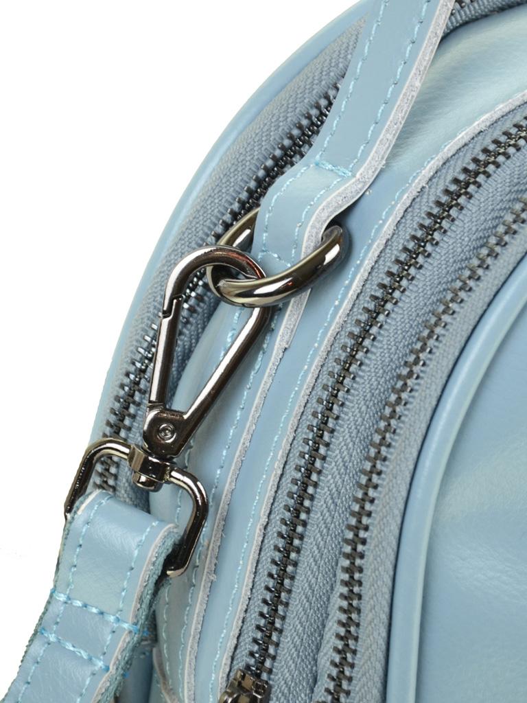 Сумка Женская Рюкзак кожа ALEX RAI 03-4 1189 l-blue - фото 3