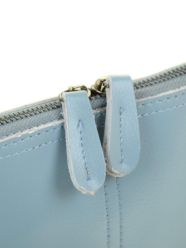 Сумка Женская Клатч кожа ALEX RAI 03-4 8803 l-blue
