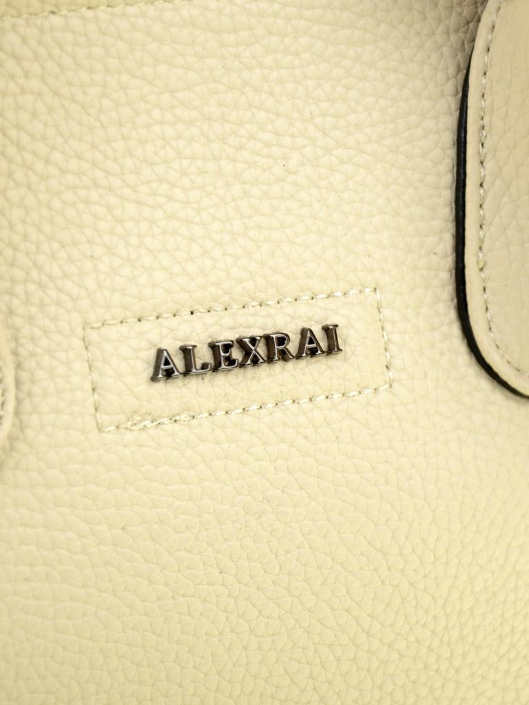 Сумка Женская Классическая иск-кожа ALEX RAI 03-5 9096 beige - фото 3