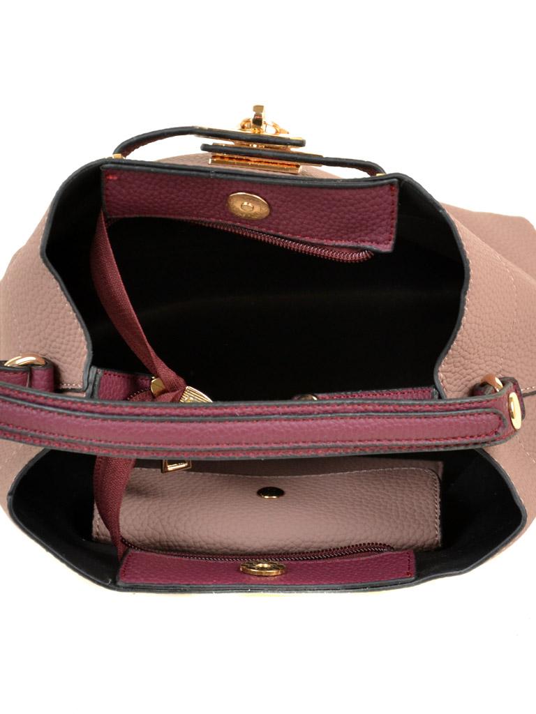 Сумка Женская Классическая иск-кожа ALEX RAI 03-5 9901 pink - фото 5