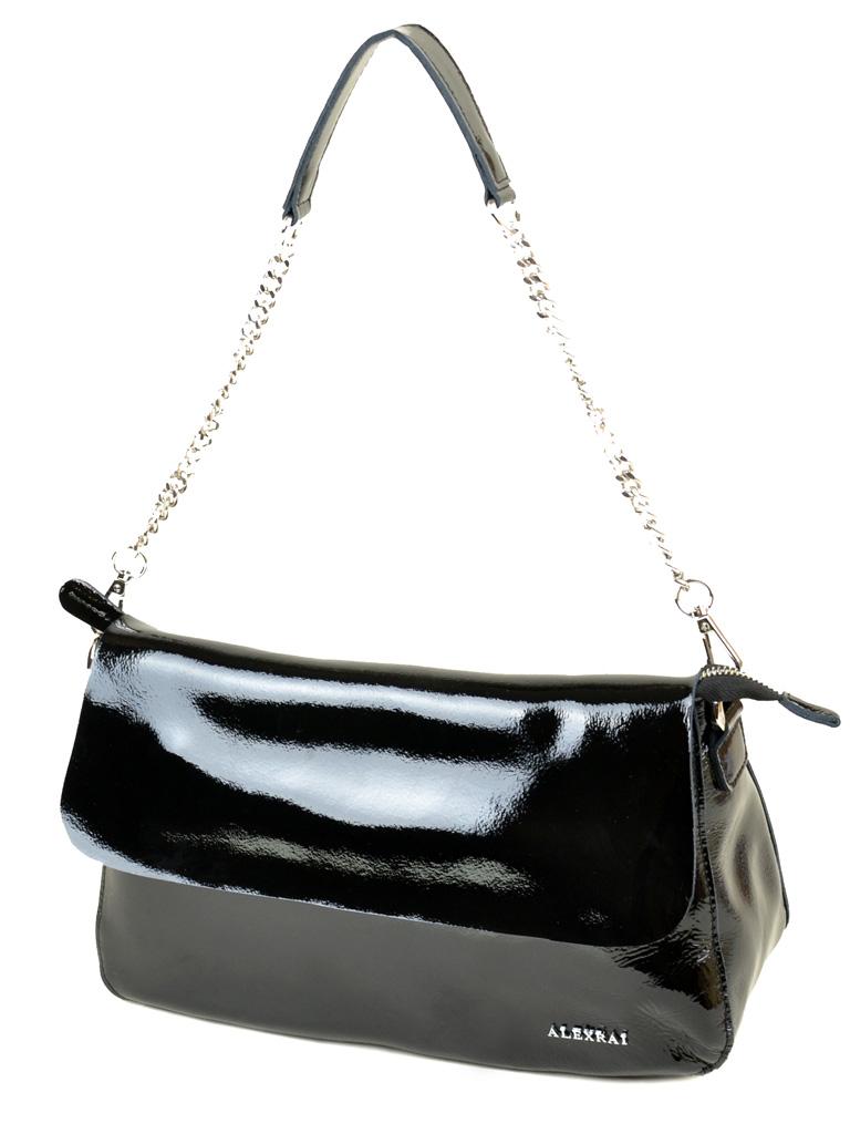 Сумка Женская Классическая кожа-лак 03-3 L8605 black