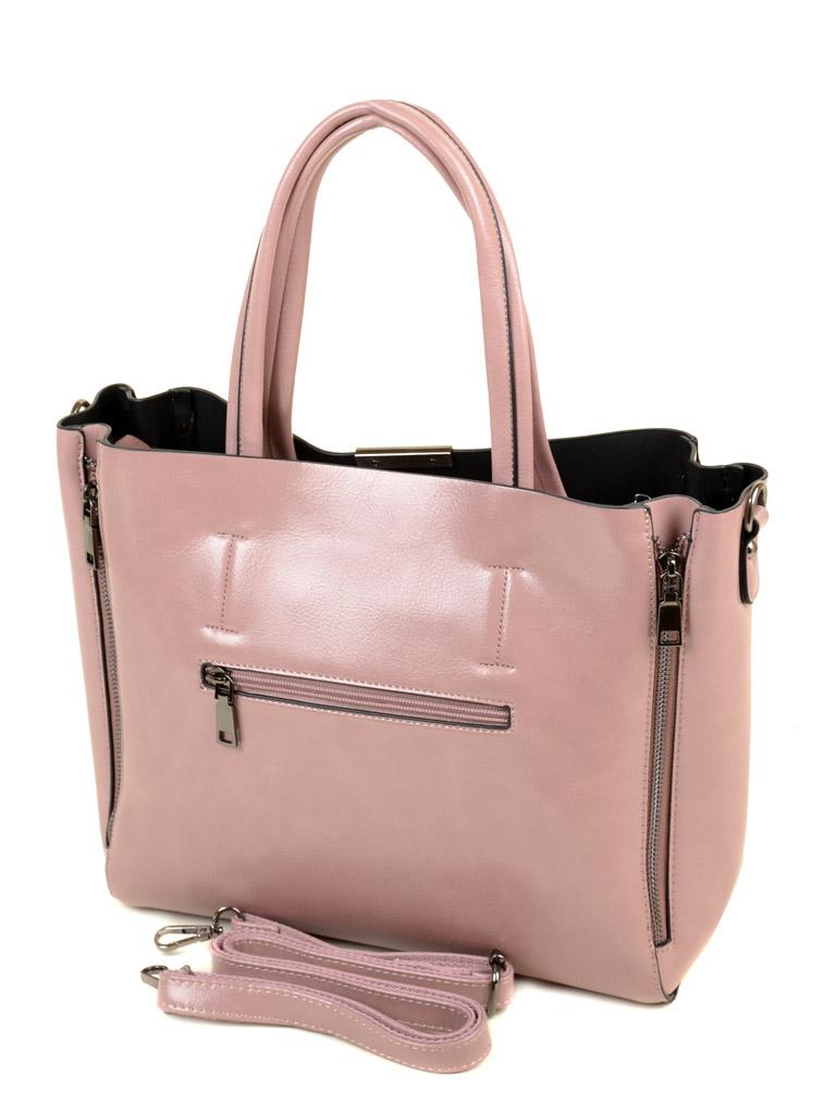 Сумка Женская Классическая иск-кожа ALEX RAI 03-5 8650 pink - фото 4