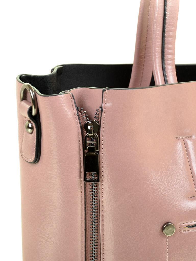 Сумка Женская Классическая иск-кожа ALEX RAI 03-5 8650 pink - фото 3