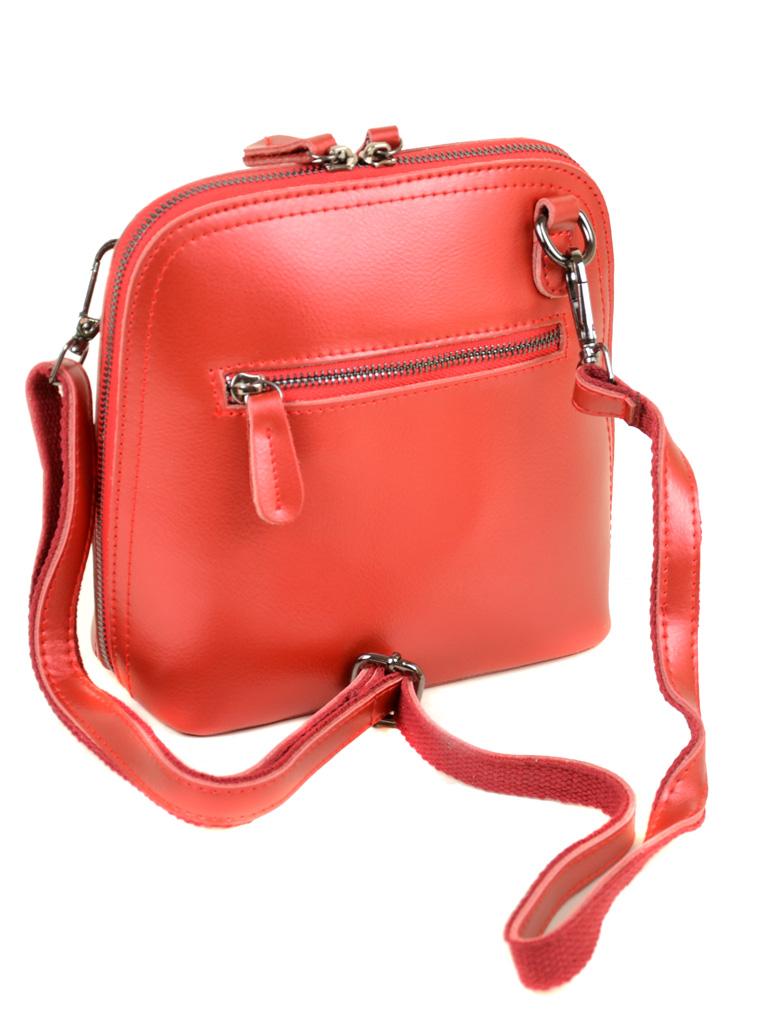 Сумка Женская Клатч кожа ALEX RAI 03-4 8803 bright-red - фото 4