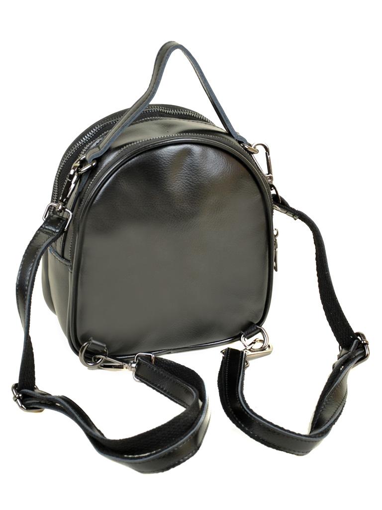 Сумка Женская Рюкзак кожа ALEX RAI 03-4 1189 black - фото 4