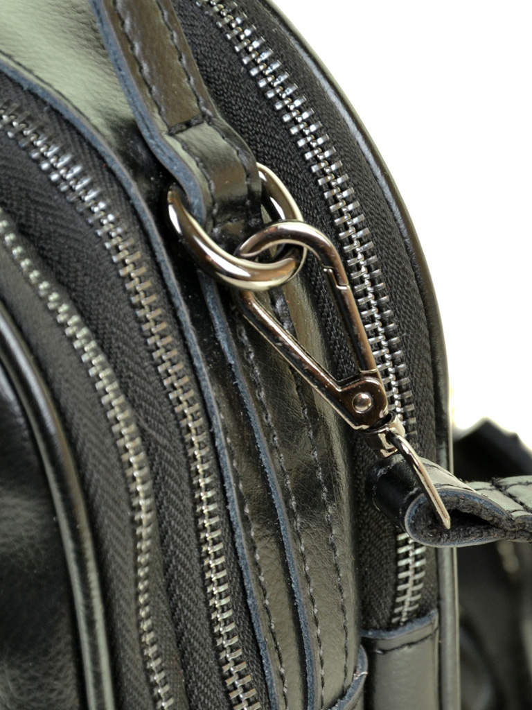 Сумка Женская Рюкзак кожа ALEX RAI 03-4 1189 black - фото 3