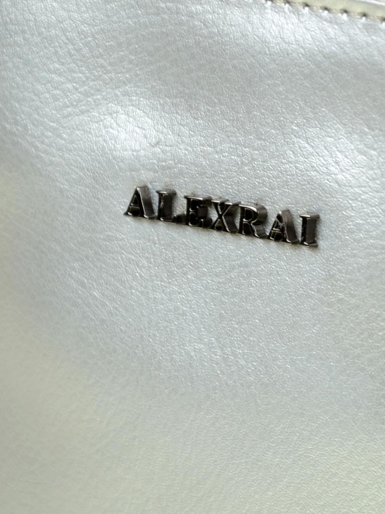Сумка Женская Клатч кожа ALEX RAI 03-4 765 silver - фото 3