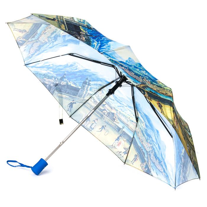 Зонт Полуавтомат Женский полиэстер 3377-2 - фото 3