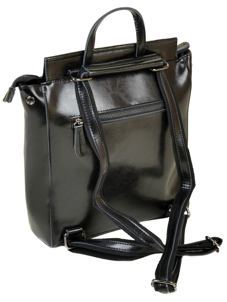 Сумка Женская Рюкзак кожа ALEX RAI 05-1 3206 black