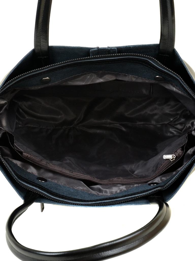 Сумка Женская Классическая кожа ALEX RAI 05-1 8704 black - фото 5