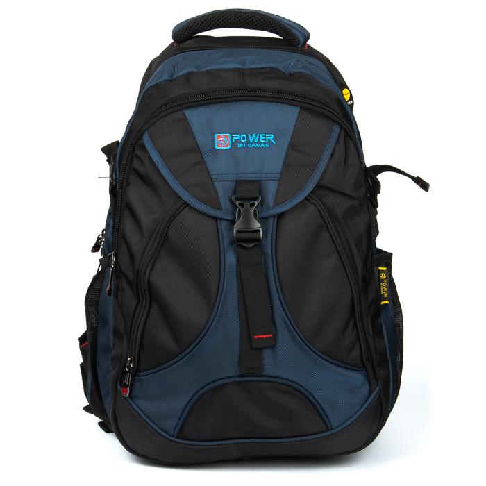 Рюкзак Городской нейлон Power In Eavas 8516 black-blue