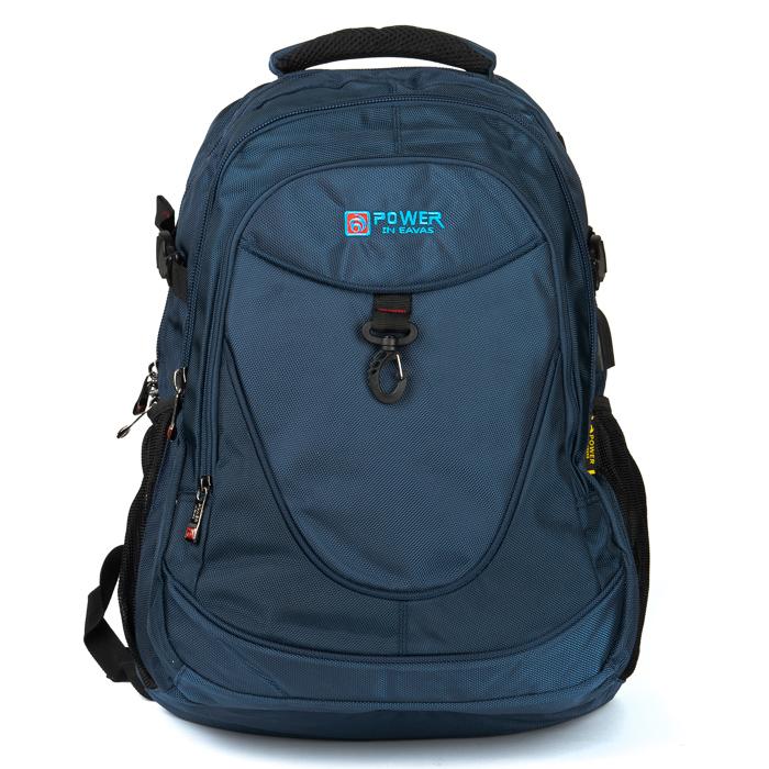 Рюкзак Городской нейлон Power In Eavas 8512 blue