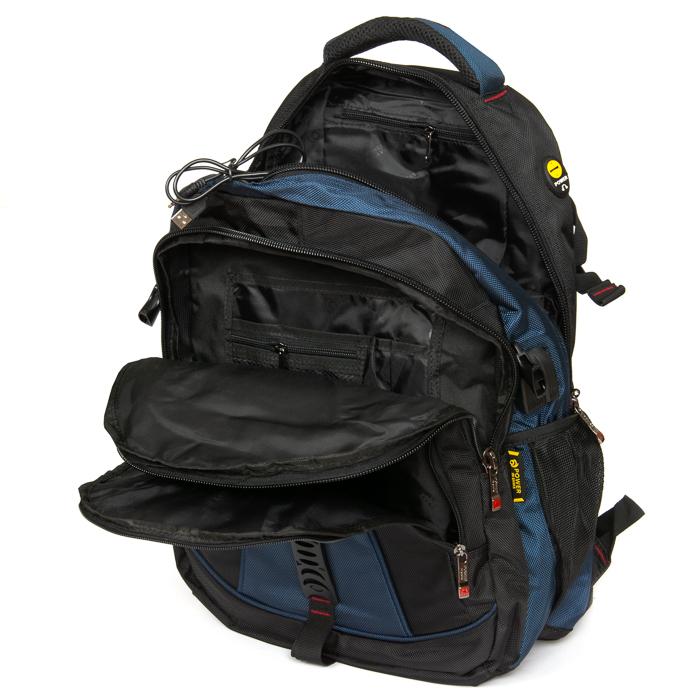 Рюкзак Городской нейлон Power In Eavas 8519 black-blue